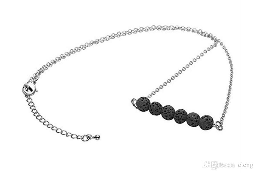 2018 new arrival woman vesuvianite necklace jewelry sweater chain exquisite vesuvianite Pendant necklace 521
