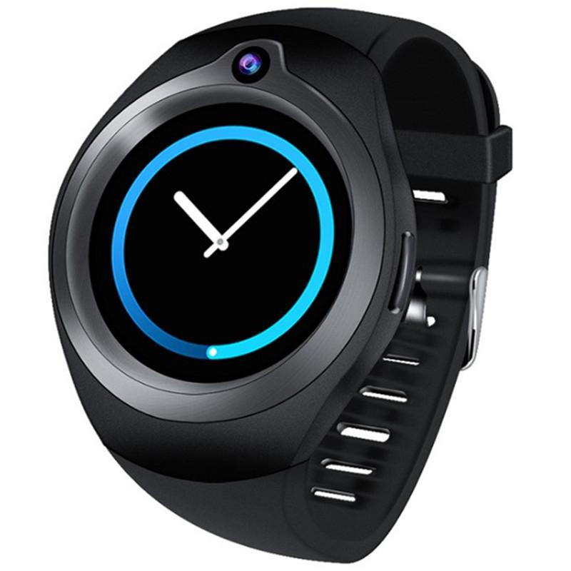 c7d660bd3cdb Relojes Baratos Hombre Android 5.1 Reloj Inteligente De Ritmo Cardíaco  Deportes Pulsera WiFi Internet HD Cámara GPS Posicionamiento Smartwatch  Teléfono ...