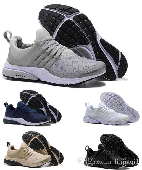 2018 Presto Ultra SE Woven Sand All Black Midnight Navy Wolf Grey Running Shoes Outdoor Casual Walking Sneakers Size 36-45 purchase cheap price FUpcJR