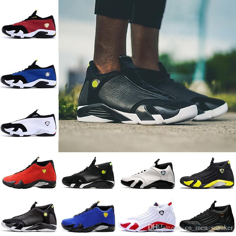0805974faf500 Precio Barato 14 Zapatos De Baloncesto Último Tiro Del Desierto De Arena  Negro Dedo Del Pie Del Coche Rojo Negro Amarillo Para Hombre Zapatillas De  Deporte ...
