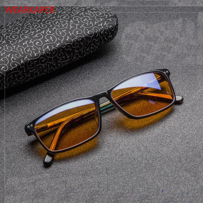 e1659675f8 WEARKAPER Anti Blue Light Ray Cell Phone Computer Glasses Women Men ...