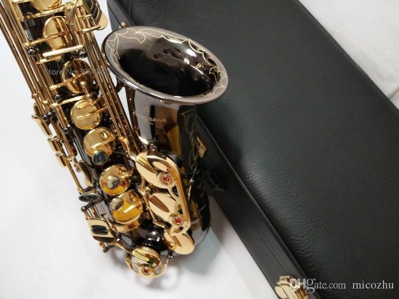 2018 New Yanagisawa Mib Saxophone Alto Musique Japon Yanagisawa A-991 saxophone alto jouant des instruments de musique noir professionnel