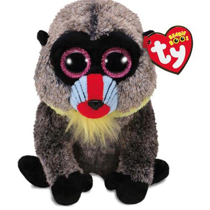 ff7ea58d8c7 Ty Beanie Boos Big Eyes Animal Baboon Plush Toy Doll With Tag 6 15cm ...