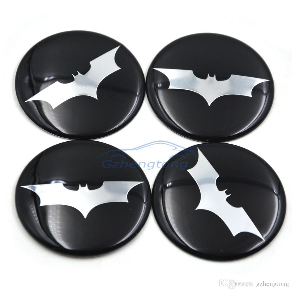 Gzhengtong 56mm 60mm Batman Alloy Car Decals Wheel Center Hub Caps Rim Sticker Motor Emblemn Auto Modified for Nissan Opel MG