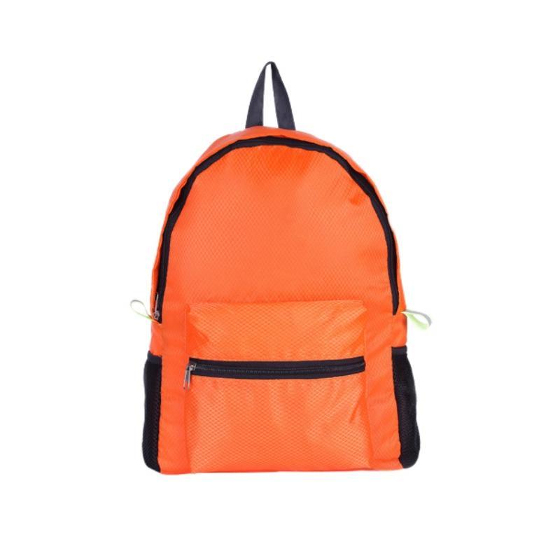 Waterproof Nylon Outdoor Breathable Mountaineering Bag Folding Backpack Wear Shoulder Bag Diamond Lattice Camping & Hiking