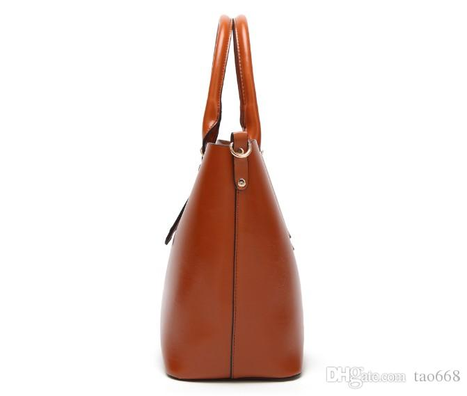 Women handbags New Fashion handbags big bag wild shoulder Messenger bag simple portable ladies