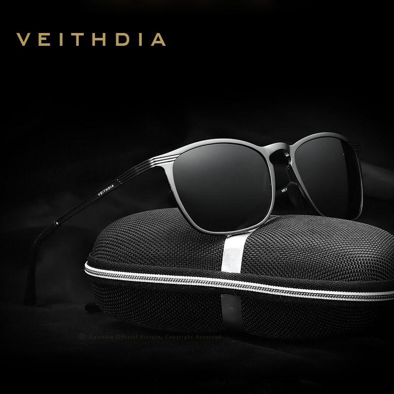 57f221332a VEITHDIA Brand Designer New Arrival Polarized Lens Sunglasses Men ...
