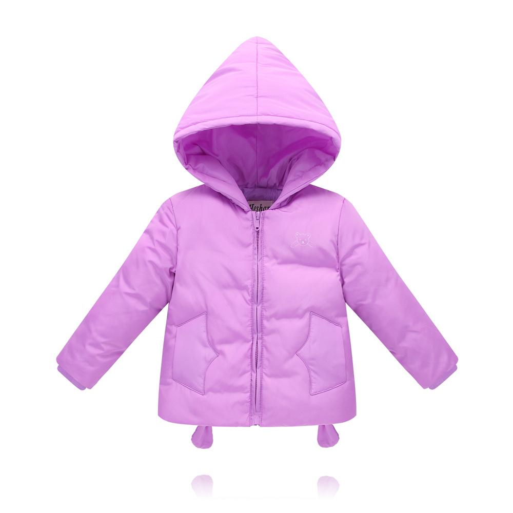2017 duck down jacket for boys girls in autumn winter warm children clothes fluff coat baby jacket clothes for kids gift cheap
