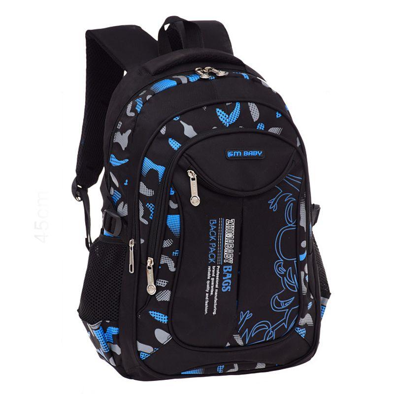 cb50fd7700 RUIPAI School Bags For Teenage Boys Girls Waterproof School Backpack  Fashion Knapsack Student Book Bag Children Backpacks Messenger Bags For  Women Gym Bags ...