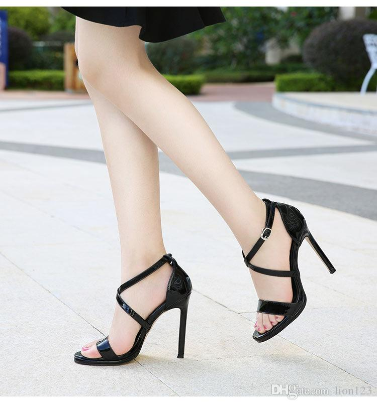 a08e0bd1a37b21 Designer Women Colorful Heels Sandals Top Quality T-strap High ...