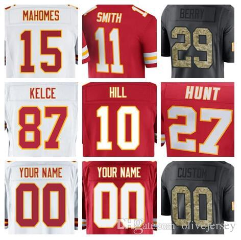 59d201a45 ... canada 2018 kansas city travis kelce chiefs jersey custom tyreek hill  patrick mahomes authentic sports youth