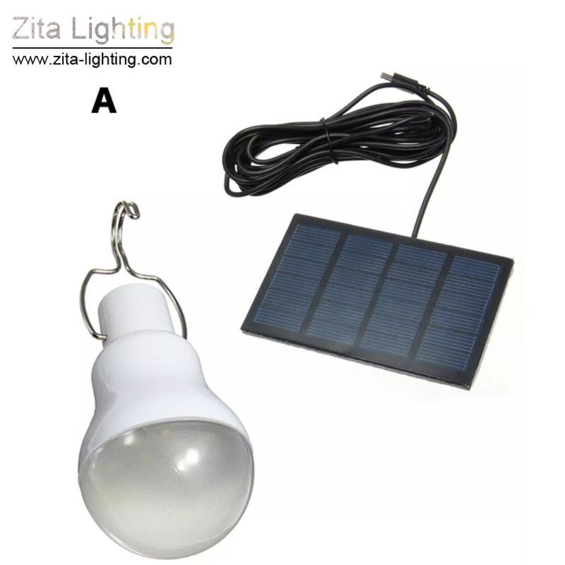 Zita, das nützliche Energieeinsparung S-1200 15W 130LM tragbare geführte Birnen-Licht-Solarenergie-Lampenlampen-Ausgangslicht im Freien heiß beleuchtet