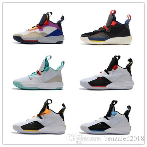 10758bdbd41567 2018 Hot Sale Jumpman XXXIII 33 Mens Basketball Shoes Cheap Sale AAA ...