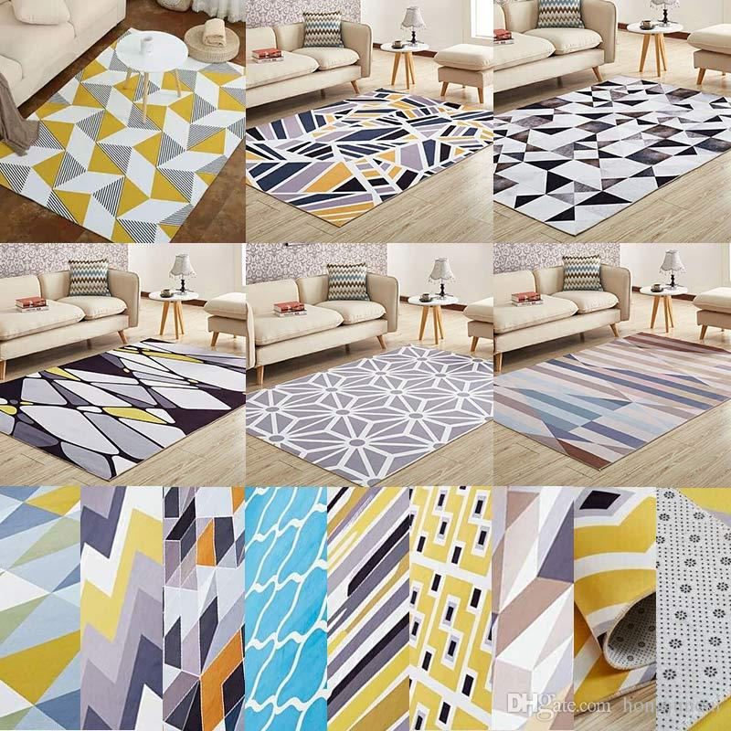 Modren Home Europe Style Geomtric Printed Carpet And Area Rug For Living  Room Carpets Kids Bedroom Rugs Absorbent Anti Slip Decoration Carpets  Online ...