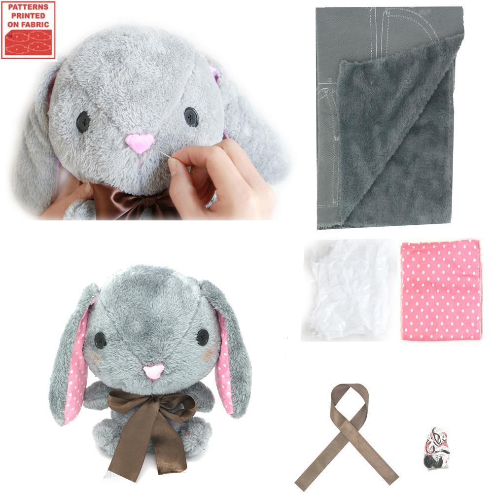 Compre Haga Su Propio Juguete Suave Amuse Pote Usa Loppy Bunny Kit ...