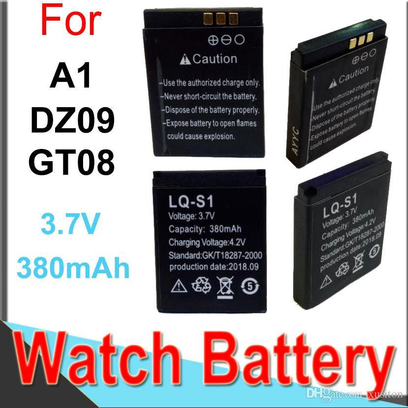 2019 Dz09 Battery For Dz09 Smart Watches 380mah For Dz09 Gt08 A1