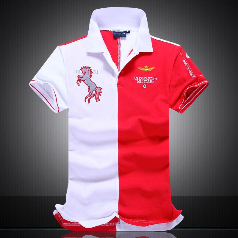 75675b5f55b Brand Tops Pattern Embroidery Luxury Designer Patchwork Polo T ...