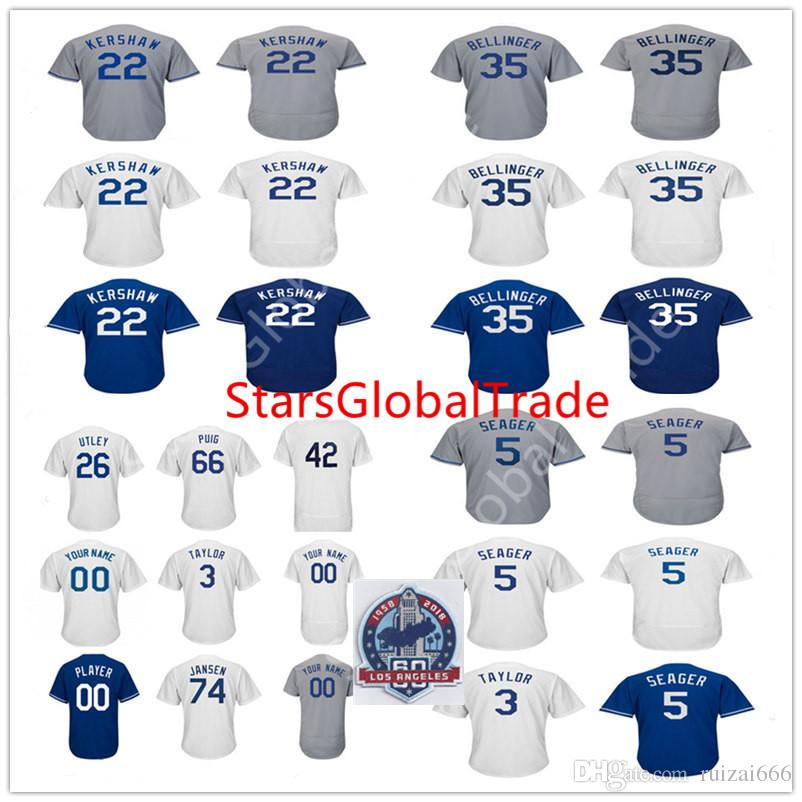 Custom Men s Women Kids Youth 74 Jansen 35 Cody Bellinger 5 Corey ... 7e09f2754
