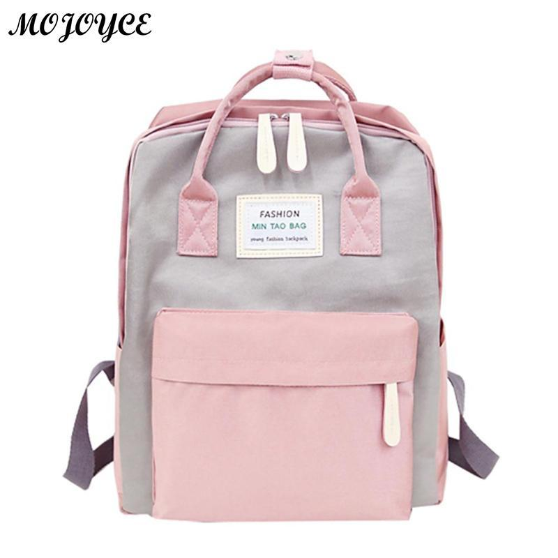 5f1826136ab3 Nylon Waterproof Women Backpack Fashion Youth Korean Style Rucksack Laptop  Backpack SchoolBags For Teenage Girls Boys Travel Bag Laptop Rucksack  Backpacks ...
