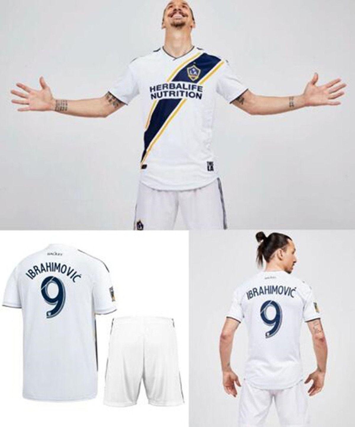 2018 2018 Ibrahimovic La Galaxy Soccer Jersey 18 19 Ibrahimovic Los Angeles  Mls Camisetas De Futbol Football Jerseys Shirts Maillot De Foot From  Tengbin, ...