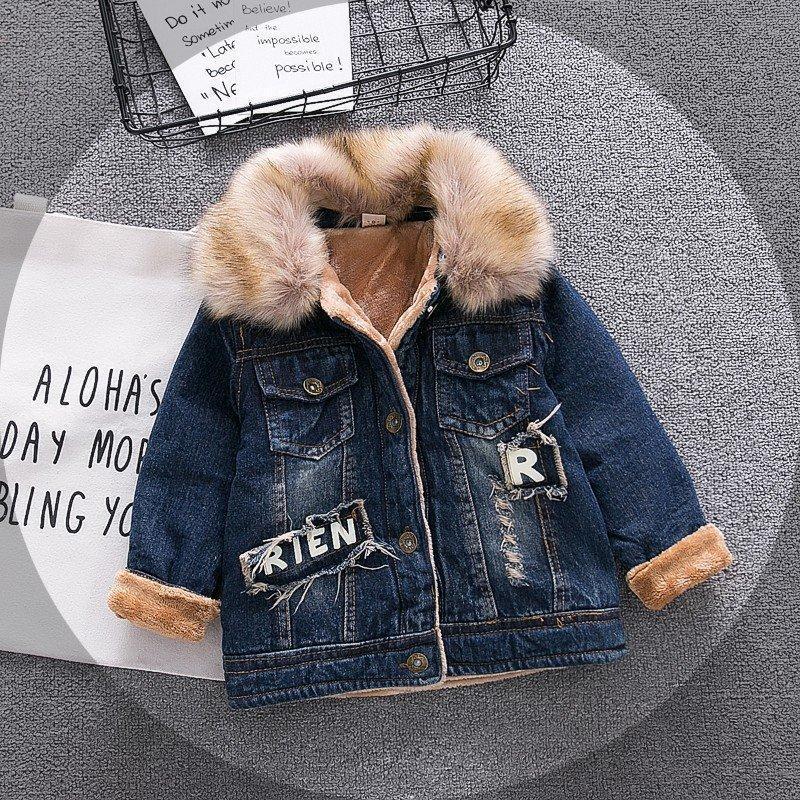 d119f7d6a608 Großhandel Baby Jungen Jeansjacke Vintage Jeans Jacken Für Jungen ...