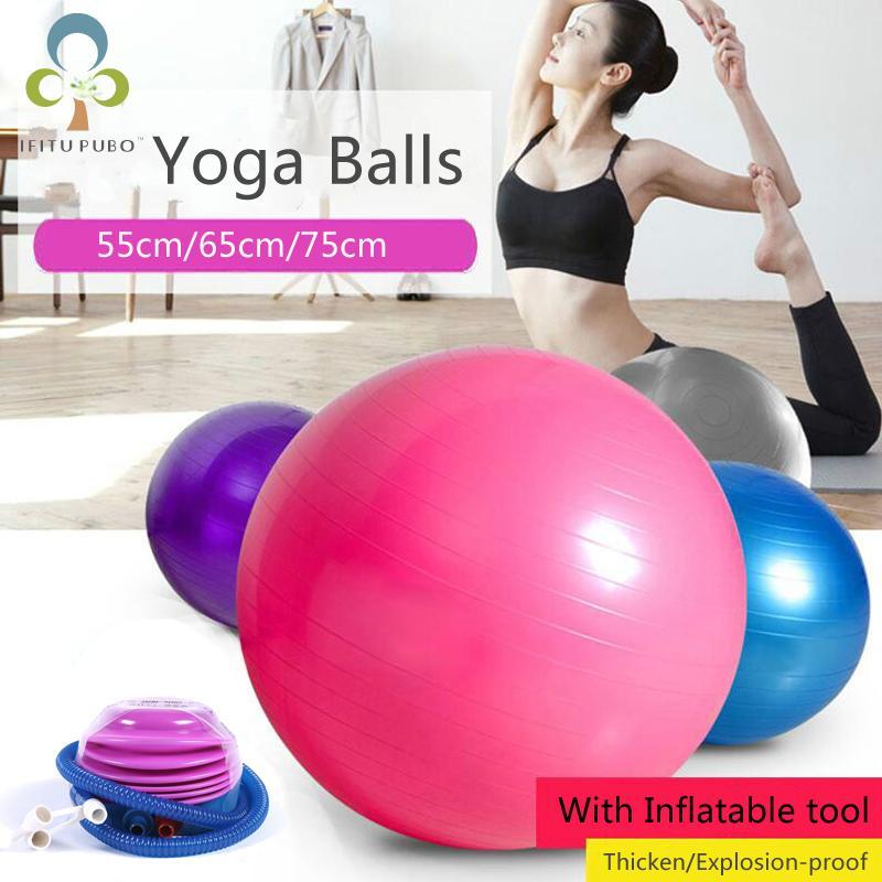 Acheter Yoga Ball Pour Fitness Pilates Équilibre Sport Fitball Utilitaire  Yoga Boules Balles De Preuve Anti Slip Fitness Formation Livraison Gratuite  GYH De ... d73cd1f92687a