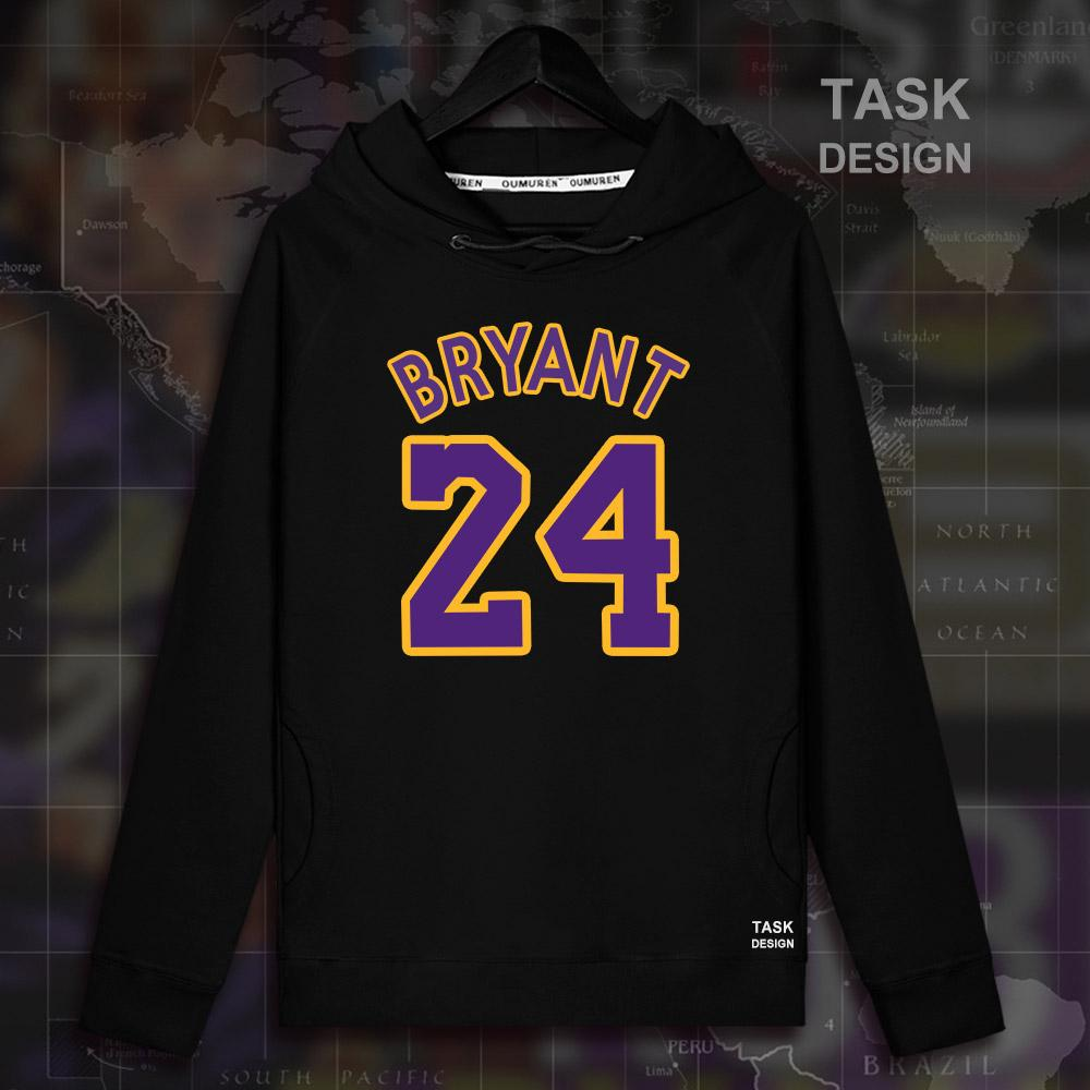 6926e7ee2cc 2019 New Kobe Bryant Men Pullovers Hoodies Sweatshirt Black Mamba Clothing  Streetwear Casual Tracksuit Laker USA Basketballer Star 24 From Candd