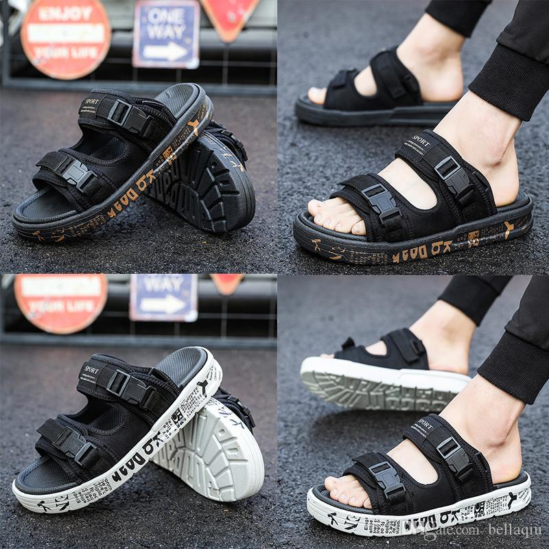 NEW Luxury Sandals Fashion Europe Brand Men Women striped Slippers Summer Huaraches slippers flip Wholesale #213 buy cheap eastbay for sale online cheap cheap online low price online fhQCb