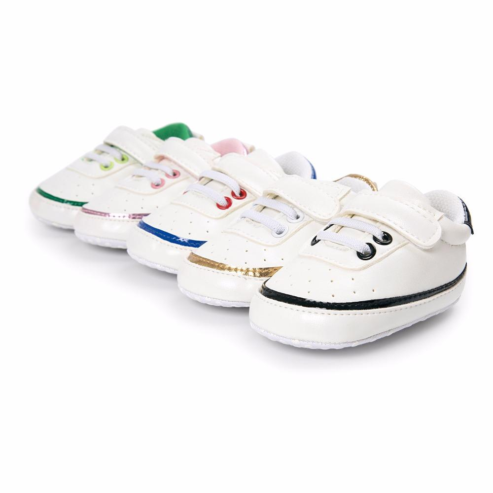 12a8fb545 2019 Baby Sneakers Shoes Boy Girl PU Leather Soft Sole Crib No Slip For  First Walkers Infant Toddler Newborn Kids From Ouronlinelife, $39.27    DHgate.Com