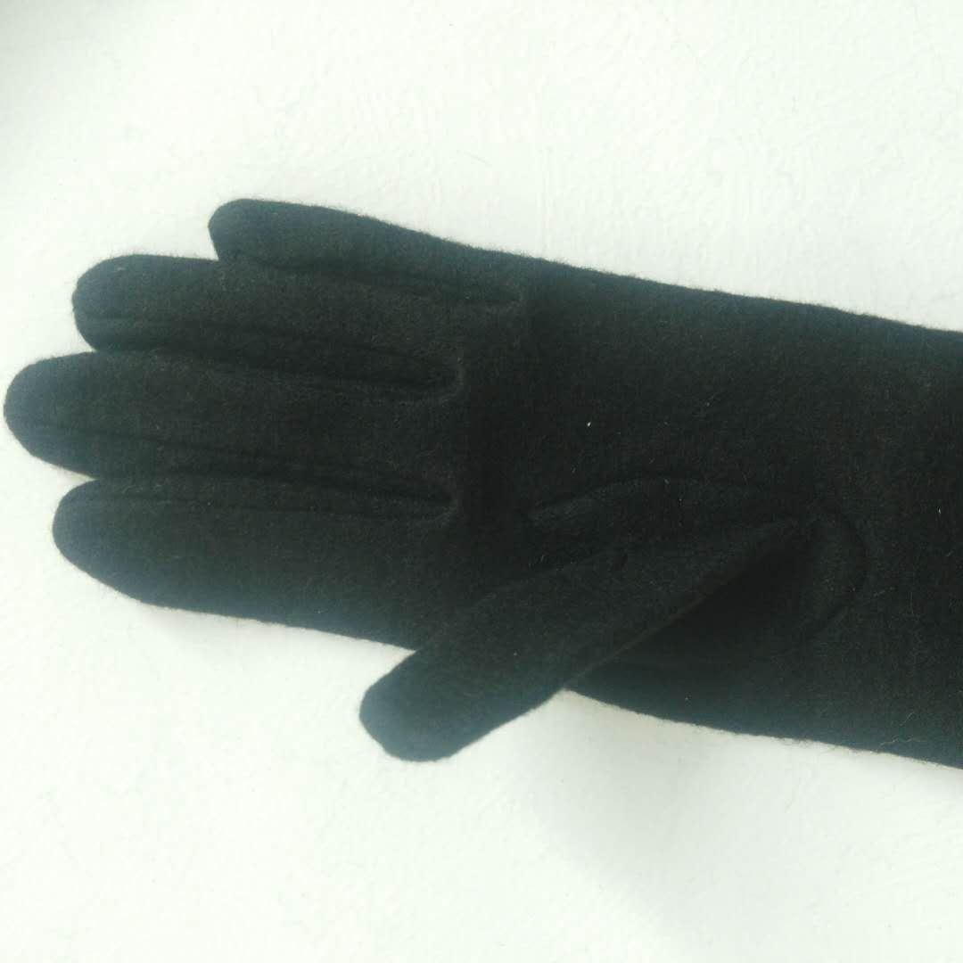 Women's 40cm Wool Gloves Elegant Fashion Accessories Gloves Long Cashmere Gloves