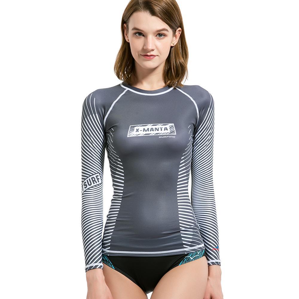 d81b6eff4d 2019 DIVE & SAIL Rash Guard UV Shirt UPF 50 Quick Drying Body Suits Women  Scuba Surf Diving Long Sleeve T Shirt Swimwear Hot Sell From Yymq0404, ...