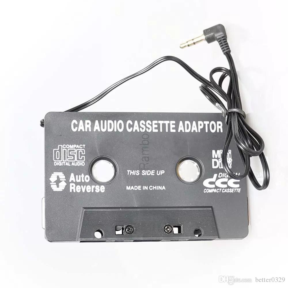 3.5mm Aux Car Audio Cassette Tape Adapter Converter for MP3 CD DVD Player Connector Stereo Universal Cassette Adapter Universal Car Cassette