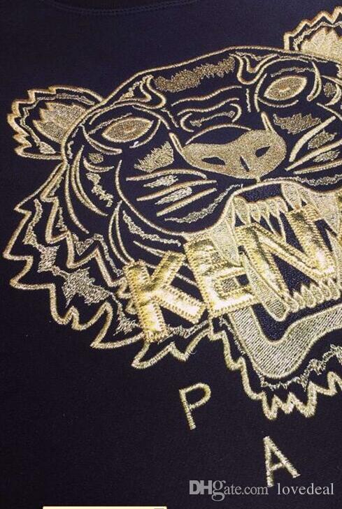 Felpe con cappuccio da donna Felpe con cappuccio da donna Felpa con cappuccio da donna con logo Tigre con logo Embroidere