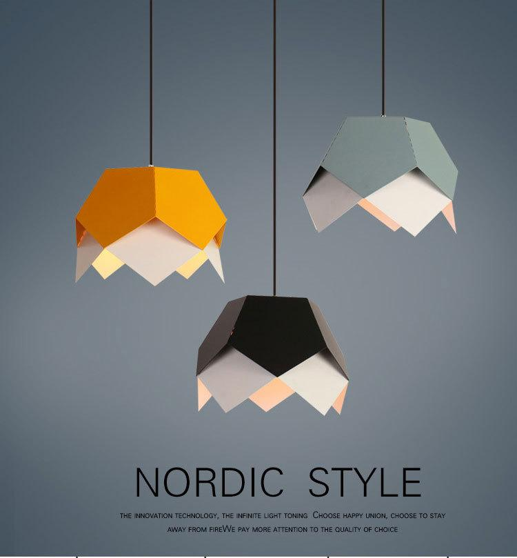 Nordic contracted droplight Angle adjustable E27 small pendant lights, Home decor lighting lamps and lanterns