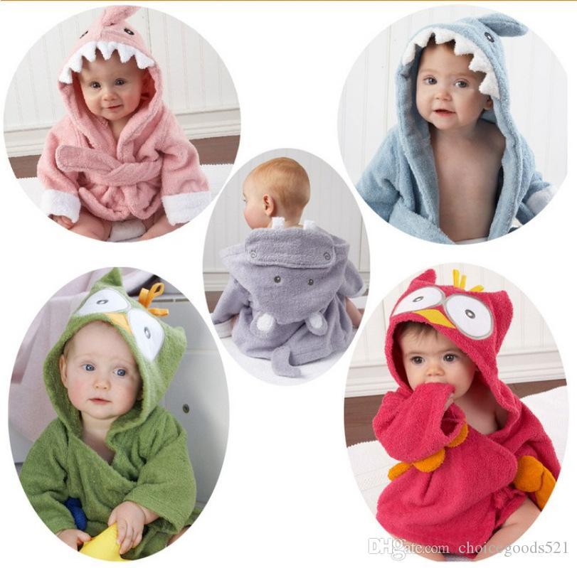 2019 Baby Bath Towels Children Bath Robe Newborn Blankets Bathing Towel  Hooded Baby S Bathrobe For 0~5 Y From Choicegoods521 45c0d1113