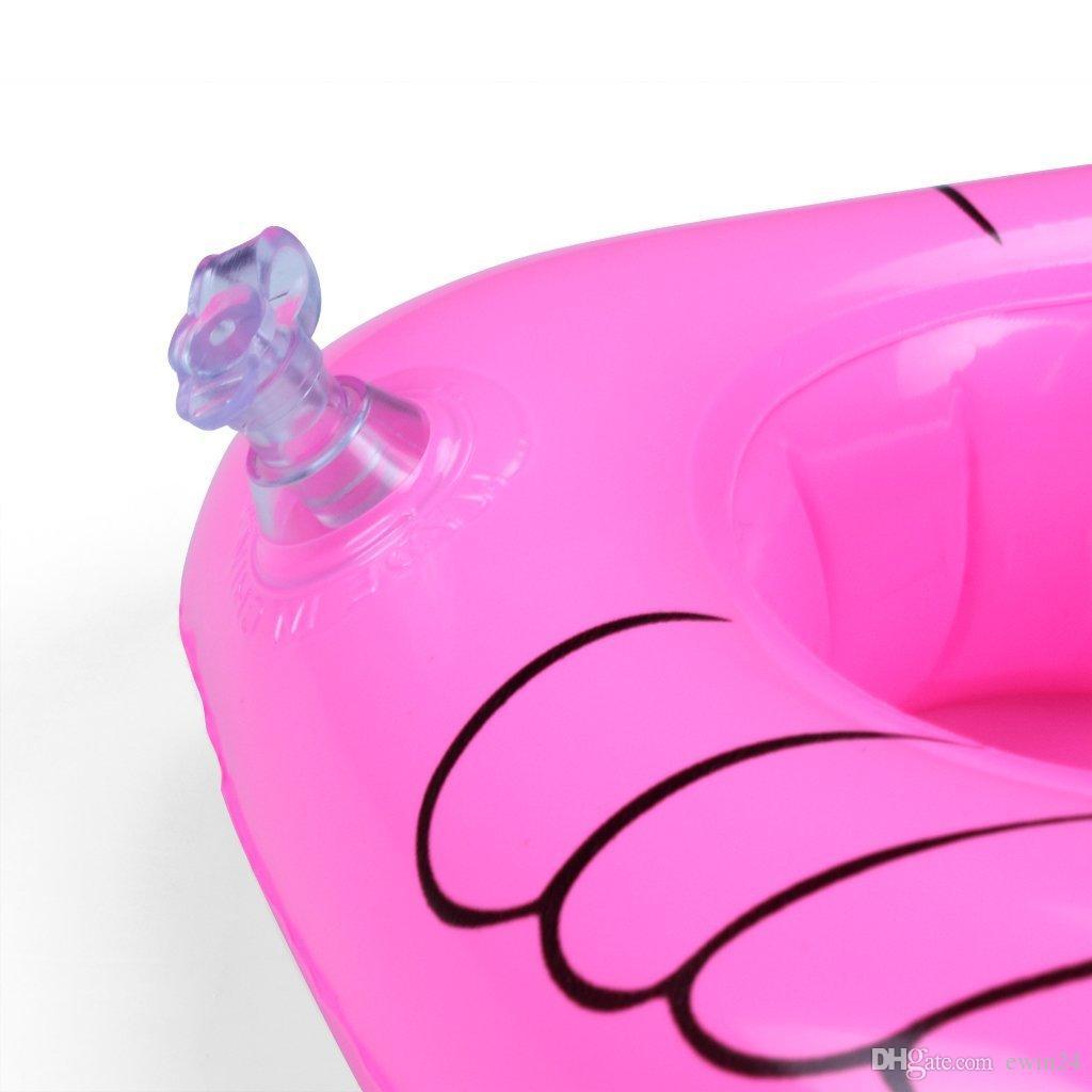 Бассейн поплавок весело фламинго надувной бассейн игрушки и подстаканник отлично подходит для бассейна партии ванна время пить Держатель и украшения
