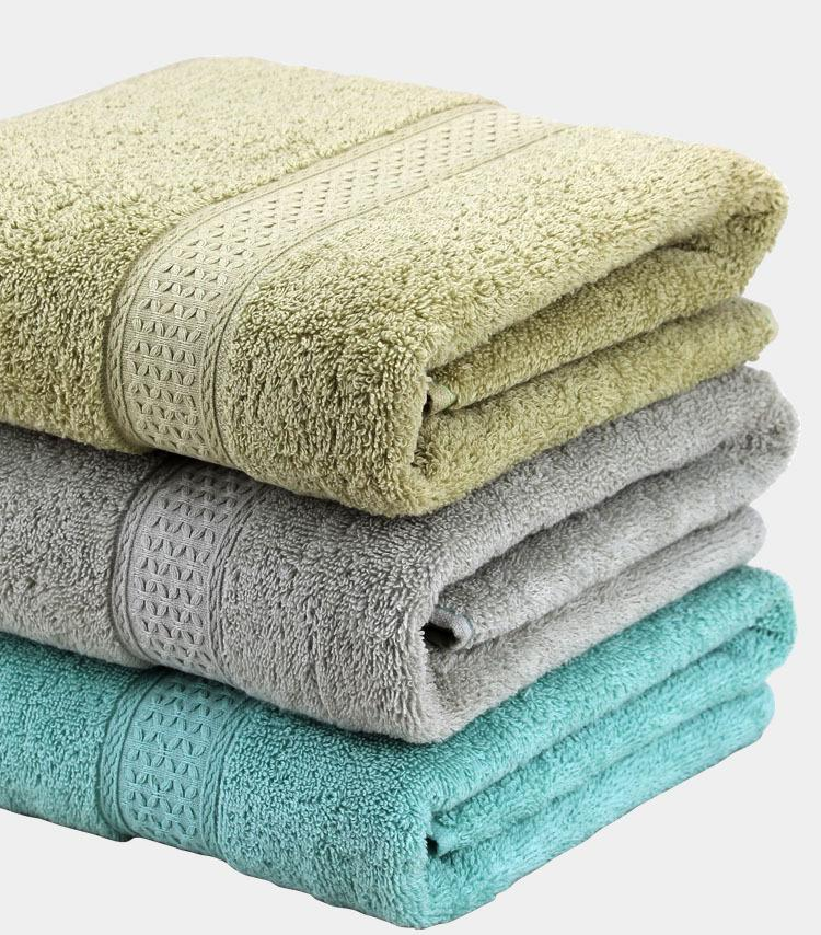 Wholesale 100 Cotton Large Bath Towels For Adults 70*140cm Solid Towel  Dryer Bathroom Gifts Towel Wholesale Towels Baby Bath Towels From Griffith,  ...