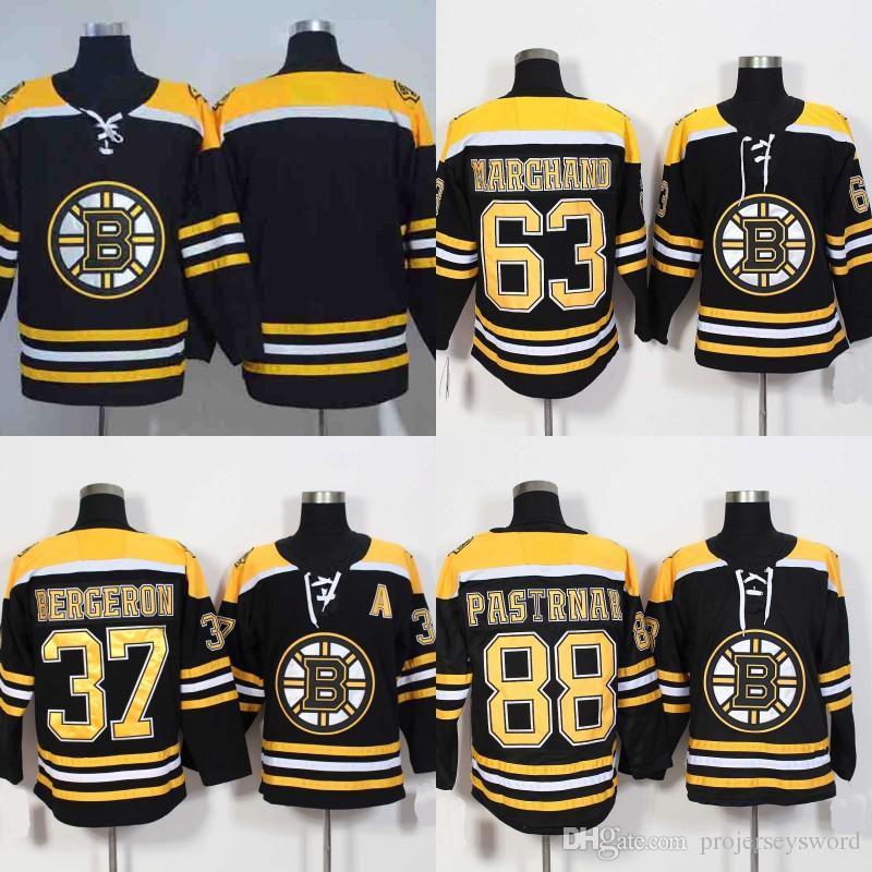 2018 Lady And Youth 2017 18 Season Boston Bruins Jersey 37 Patrice Bergeron  63 Brad Marchand 88 David Pastrnak Hockey Jerseys Black From  Projerseysword 165bdbae4