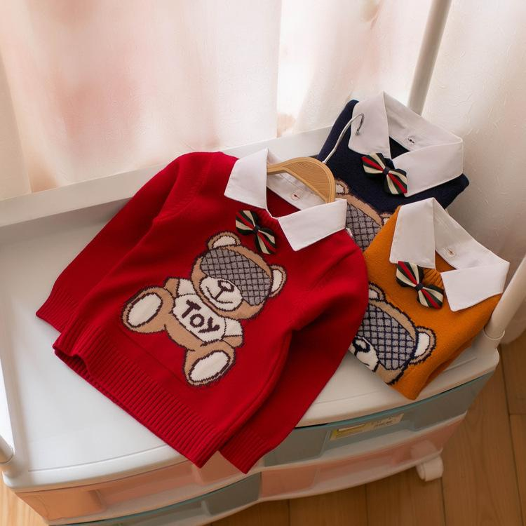 563d8b8da MMTKIDS Korean Children S Garment Children Sweater Catamite Shirt ...