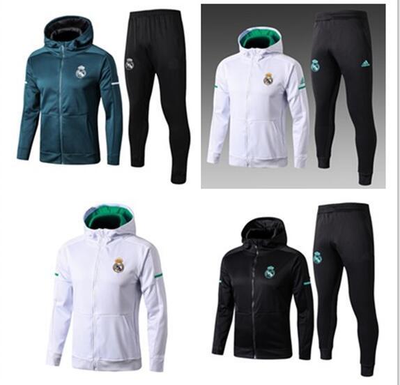 Compre 2018 2019 Real Madrid Jaqueta De Futebol Treino De Futebol Jaquetas  Kits Mens 17 18 19 Chandal DYBALA PERIGO Agasalho Juv Moletom S XL De  Wuxiehong e7801bfe36cf6