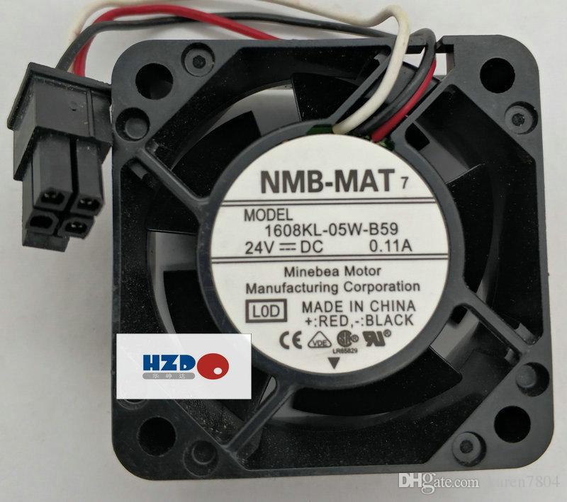 Ventola di raffreddamento della nuova macchina originale 1608KL-05W-B59 L0D NMB 4020 DC24V 0.11A FANUC