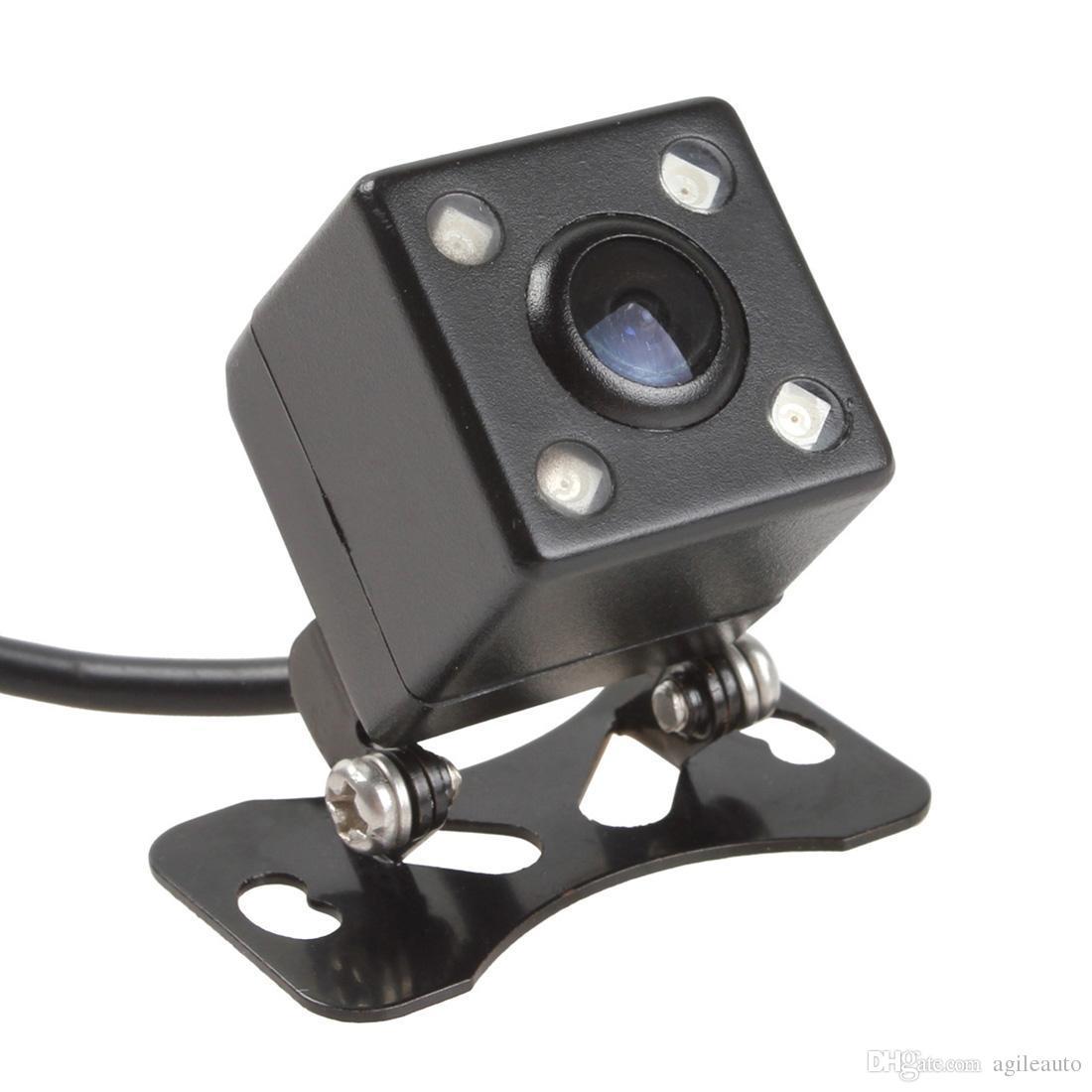 7 polegadas TFT LCD cor 2 entrada de vídeo Car Rear View Headrest Monitor DVD VCR Monitor + Night Vision Camera Rear View CMO_335