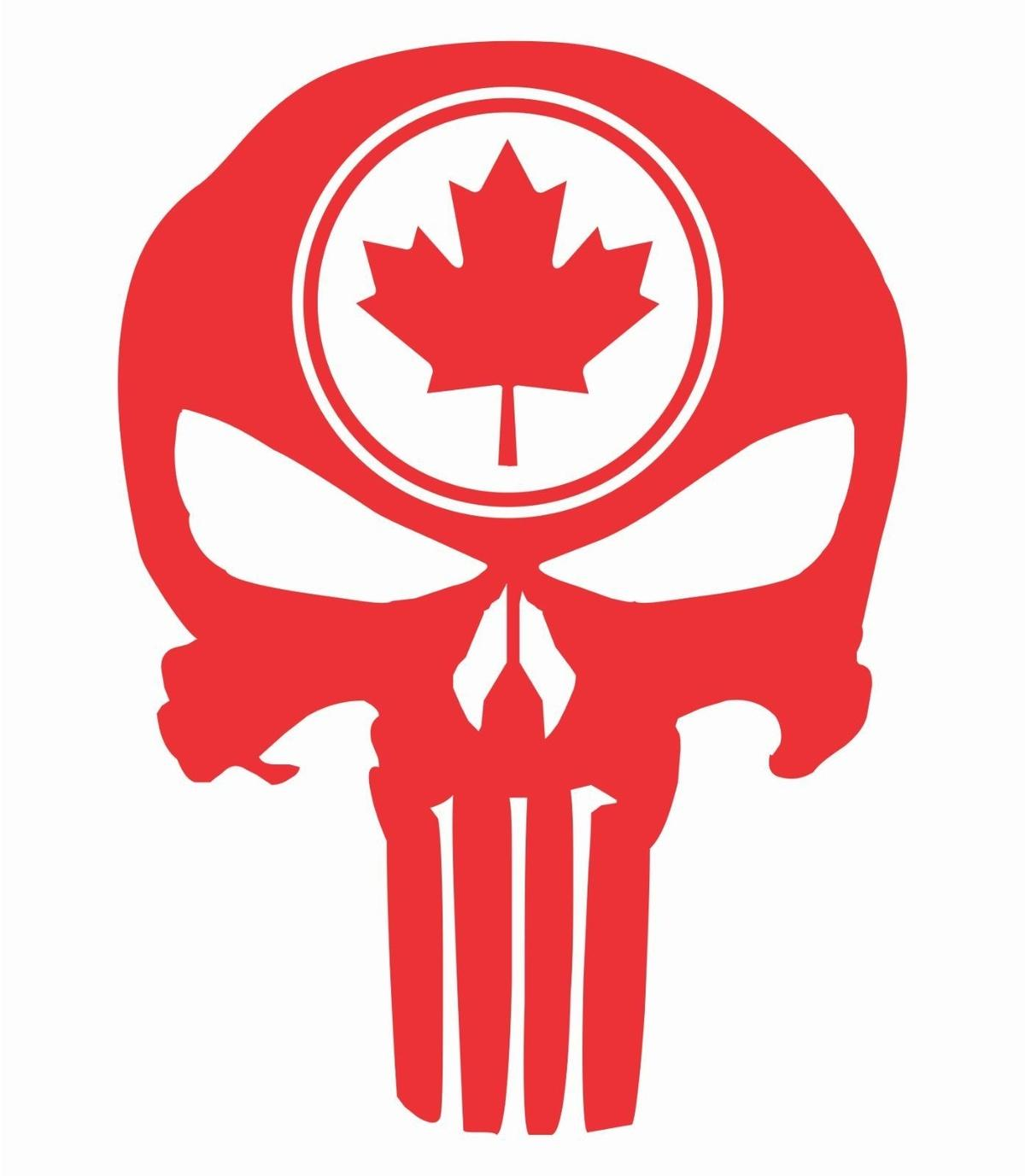 2019 car styling for tall punisher skull maple leaf vinyl decal sticker canadian flag truck from redchinatown 1 01 dhgate com