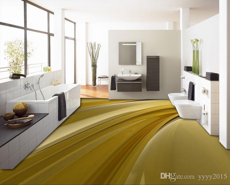 3d Naturtapeten kreativer kühler beweglicher flüssiger Fußboden 3D  dreidimensionale Malereitapete für Wände 3 d für Wohnzimmer