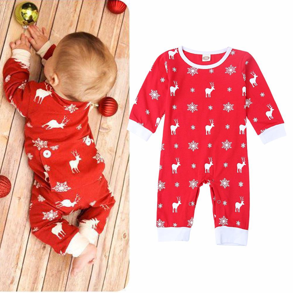 971c19cb1ddd Baby Boy Clothing Christmas Clothes for Newborn Baby Girls Onesie ...