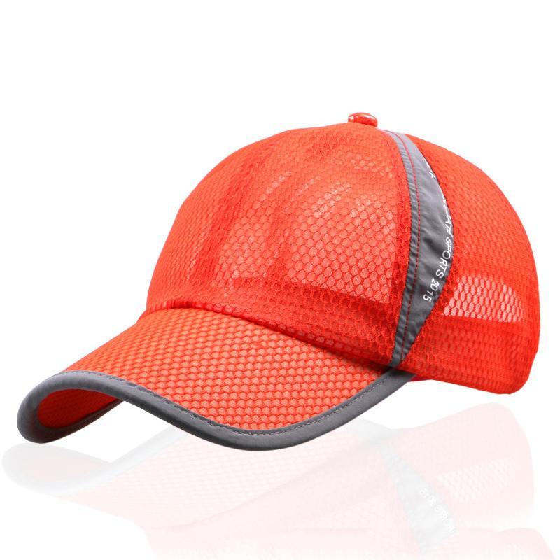 SINGYOU Cap Mens Summer Breathable Mesh Hat Sunshade Casual Women Baseball  Cap Casquette Thin Hat The Game Hats Baby Caps From Hongshaor fd037ea569