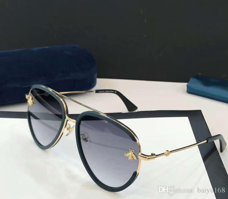 415942b8a0 Compre Gafas De Sol Graduadas Negras / Grises Con Abeja Sonnenbrille Gafas  De Sol Lujosas Diseà ± Adas Gafas De Sol Nuevas Con Estuche A $59.4 Del  Baiyu168 ...