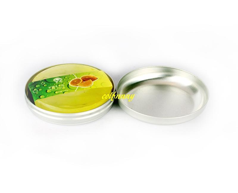 New 100ml Aluminum soap box Earphone storage box tin Cream container jar