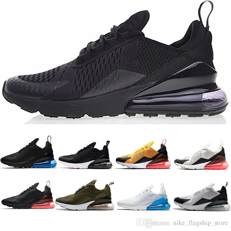 sale retailer 17a49 8baab Acheter Nike Air Max 270 Chaussures De Course Pour Hommes Photo Bleu Moyen  Olive Volt Hot Punch Teal Navy Bruce Lee 270s Chaussures De Créateurs De  Femmes ...