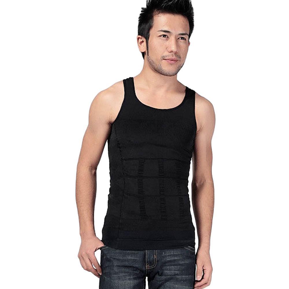 265c824a86 2019 2016 New Fashion Men Body Slimming Tummy Shaper Vest Belly Waist  Girdle Shirt Vest Shapewear Underwear From Zanzibar
